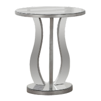 Mirrored End Tables